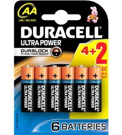 Pilas Duracell ultra power aa(lr06) 6 pack AALR06ULTRA6 - 4050877