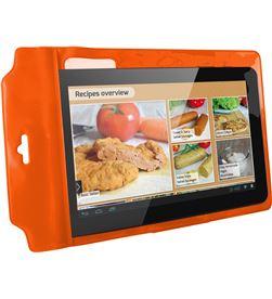 Funda universal Ksix easy cook standing naranja BXFUSP10NJ - BXFUSP10NJ