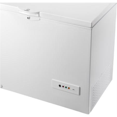 Congelador h Indesit OS1A300H 118cm blanco a+