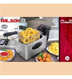 Freidora Palson new orleans 3l inox 30648 Freidoras - 30648