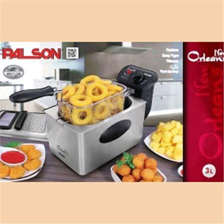 Freidora Palson new orleans 3l inox 30648