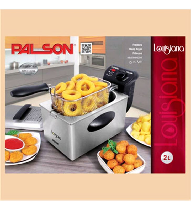 Freidora Palson lousiana 2l inox 30647 - 30647