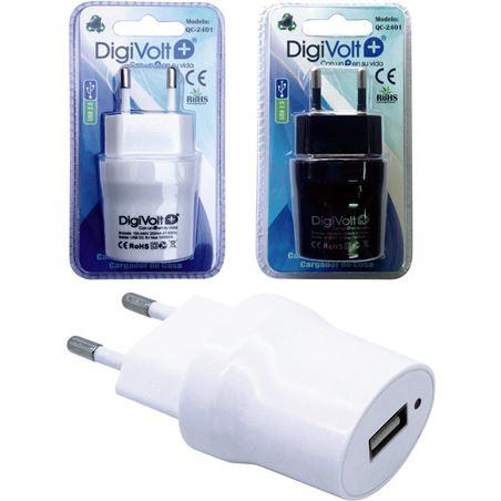 Digivolt cargador universal usb casa 2401 (200/c) qc2401