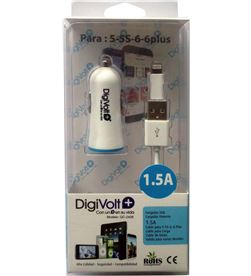 Digivolt caragdor coche+cable ip5/6 1500a 2408 qc2408 - QC-2408