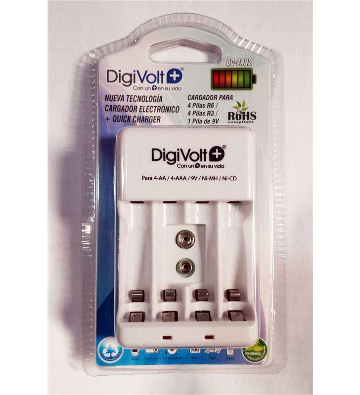 Digivolt QC-2402 cargador electronico para r6/r3 2402(80) qc2402 - QC-2402