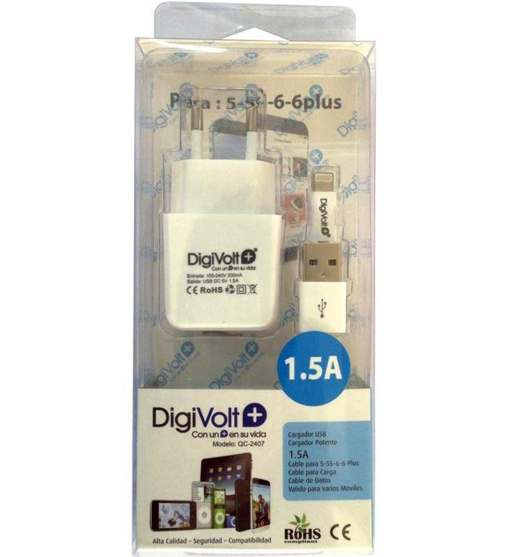 Digivolt QC-2407 caragdor casa+cable ip5/6 1500a 2407(100 qc2407 - QC-2407