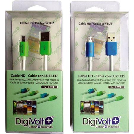 Digivolt cable hd con led para micro-usb 8206l cb8206l