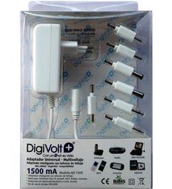 Digivolt AD-1500 adaptador multi voltaje/clavija 1500a(50 ad1500 - AD-1500
