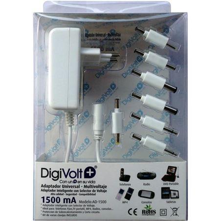 Digivolt adaptador multi voltaje/clavija 1500a(50 ad1500