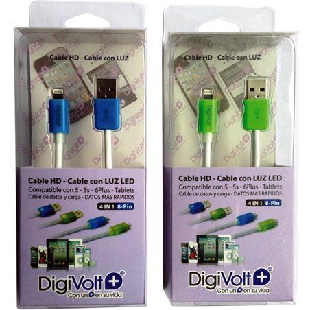 Digivolt cable hd con led para ip5/6 8205l (200) cb8205l
