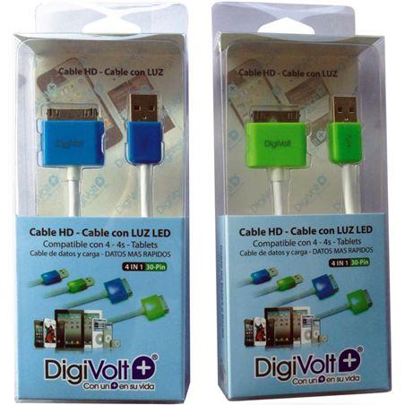 Digivolt cable hd con led para ip4 8204l (200) cb8204l