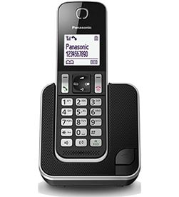Telefono inal Panasonic kx-tgd310spb negro KXTGD310SPB - KXTGD310SPB