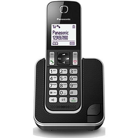 Telefono inal Panasonic kx-tgd310spb negro KXTGD310SPB
