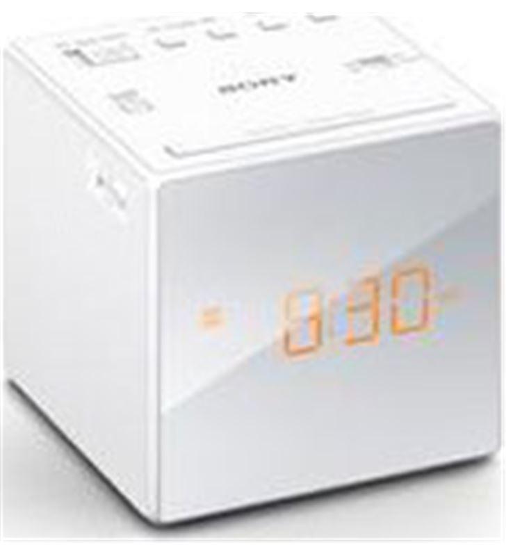Radio reloj Sony icfc1b.ced blanco ICFC1WCED Radio y Radio/CD - ICFC1W