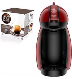 Cafetera + paq cafe dolce gusto Delonghi edg200r piccolo ro PACKEDG200R(3P) - PACKEDG200R