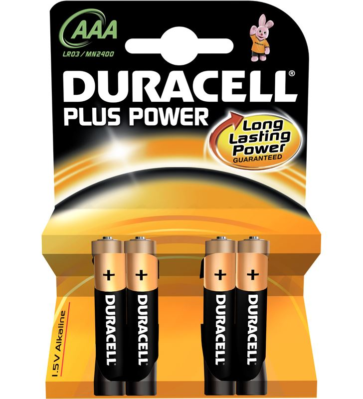 Pila Duracell plus power aaa(lr03) 4+2kp alcalina LR03K4 - AAAMN2400PLUS