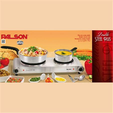 Placa coccion Palson double steel plus inox 30993