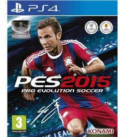 Sony juego ps4 pro evolution soccer 2015 100660 - 100660