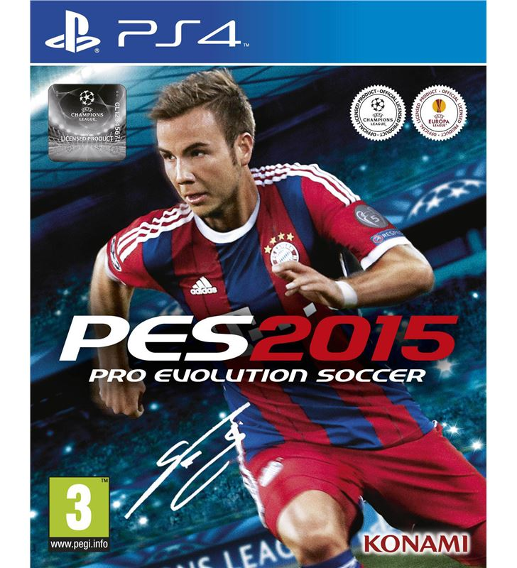 Sony 100660 juego ps4 pro evolution soccer 2015 Juegos - 100660