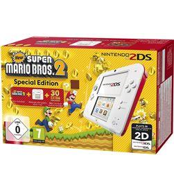 Consola Nintendo 2ds hw roja+super mario bros 2 2203899 - 2203899