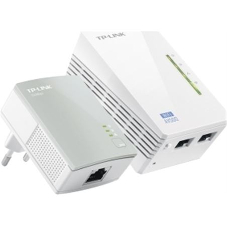 Power line Tp-link wpa4220k 500mbps 2x red (rj-45) TLWPA4220KIT