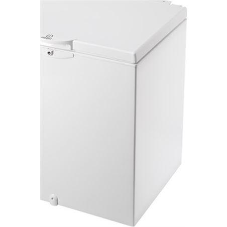 Congelador h Indesit OS1A200H 80cm blanco a+