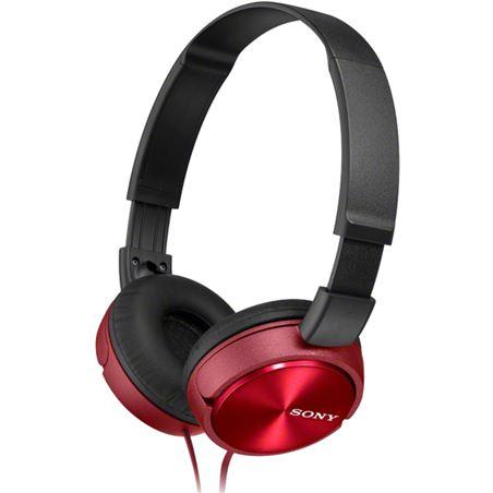 Auricular diadema Sony mdr-zx310r 30mm rojo MDRZX310RAE