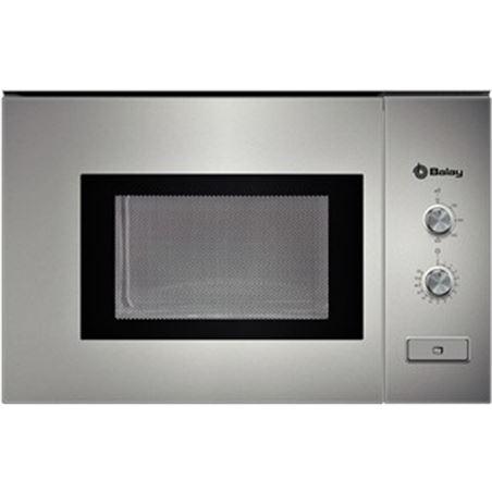 Microondas s/grill 20l Balay 3wm360xic gris