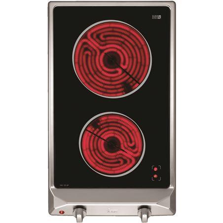 Domino vitro Teka vm30 2p 2f 30cm marco inox 10208009