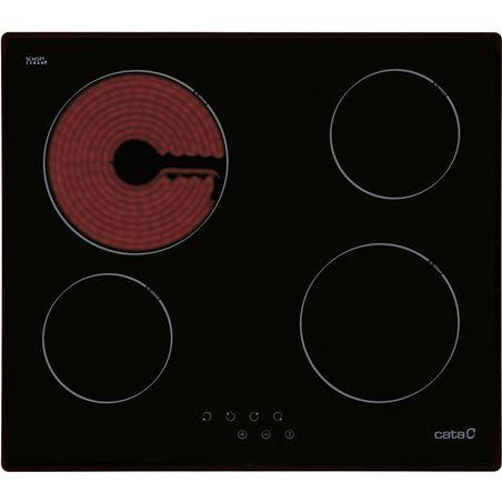 Placa vitro Cata t604 4fuegos 59cm 08052206