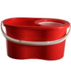 Fregona+cubo/centrifuga Duett 300mo mini rojo 300RJ - 300RJ