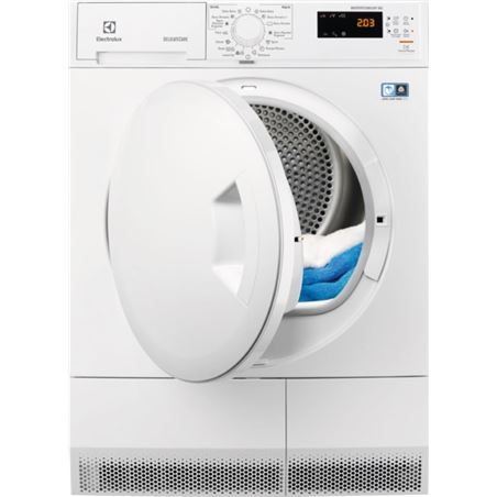 Secadora cond Electrolux edh3685pdw 8kg bl bomba c 916097747