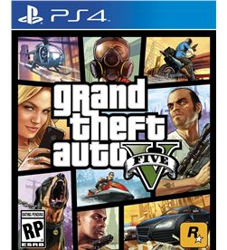 Sony juego ps4 grand theft auto v (gta 5) 417037 - 417037
