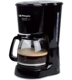Cafetera degoteo Orbegozo CG4022N 12t negra - CG4022N