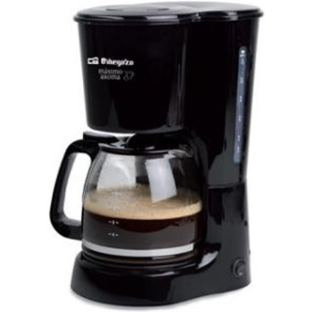 Cafetera degoteo Orbegozo CG4022N 12t negra