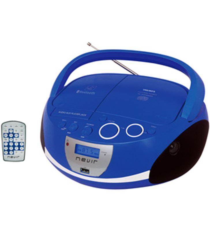 Nevir NVR480UBBL radio cd nvr480ub bluetooth mp3 usb azul - NVR480UBBL
