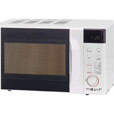 Microondas grill 23l Nevir nvr6130mdg23 blanco