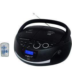 Nevir NVR480UBBK radio cd nvr480ub bluetooth mp3 usb negra - NVR480UBBK
