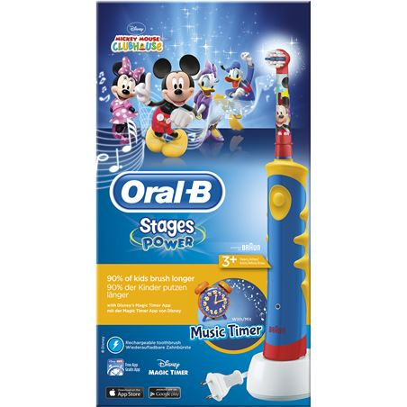 Cepillo dental Braun oral-b d12 stages mickey D12MICKEY