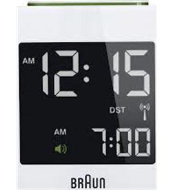 Reloj despertador Braun BNC008WH digital blanco - BNC008WH