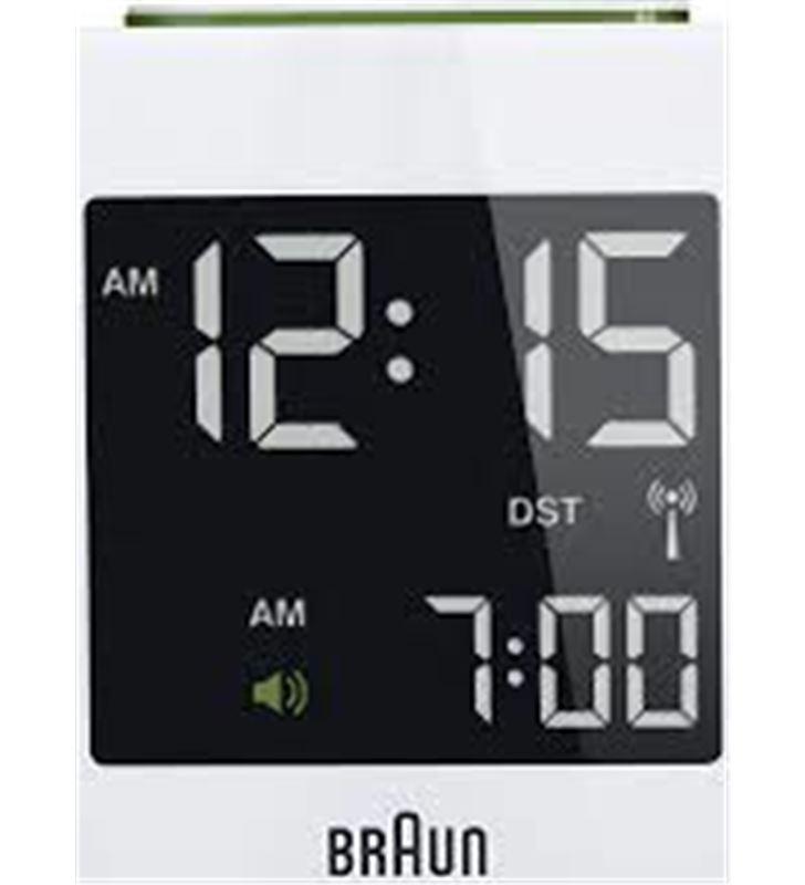 Reloj despertador Braun BNC008WH digital blanco Radio Radio/CD - BNC008WH