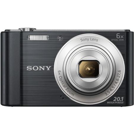 Camara fotos Sony dscw810b negra 20.1mp 27.1m DSCW810BCE3