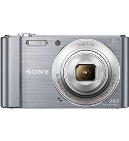 Sony DSCW810S camara fotos plata 20.1mp 27.1m ce3 Cámaras - DSCW810S