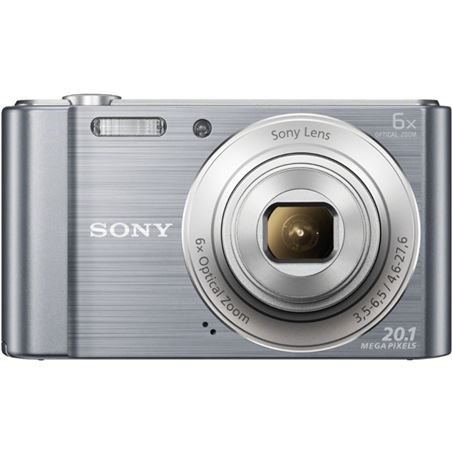 Camara fotos Sony dscw810s plata 20.1mp 27.1m DSCW810SCE3