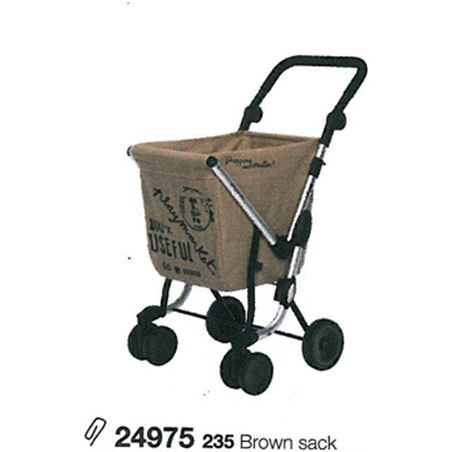 Playmarket carro compra play we go eco marron (tejido saco) 24975235
