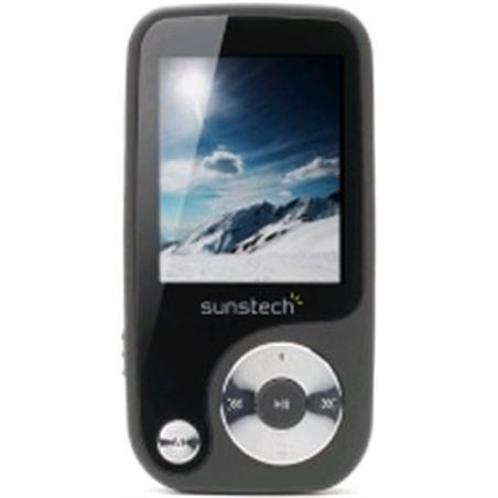Mp4 4gb Sunstech thorn negro THORNBLACK