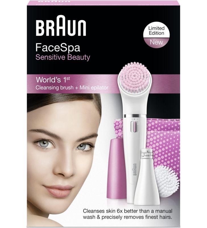Braun 832S depiladora facial sensitive cuidadofac Depiladoras - 832S