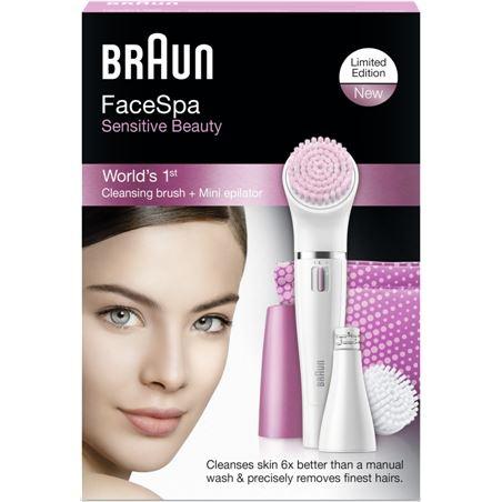 Depiladora facial Braun 832s sensitive 832SCUIDADOFAC
