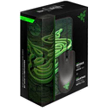Pack Razer raton abyssus+alfombrilla gaming goliat RZ84-00360200-B
