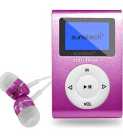 Sunstech DEDALOIII4GBPK mp3 4gb dedaloiii rosa Reproductores MP3/4/5 - DEDALOIII4GBPK